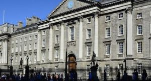 Trinity College Dublin's Dean of Research Prof John Boland welcomed the fact the university has recaptured top spot among  Irish universities, but expressed concern at a drop of 30 places overall in the space of one year. File photograph: Getty Images
