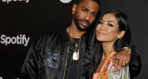 Rapper Big Sean and singer Jhene Aiko at the Spotify Best New Artist Nominees celebration  in LA, California: it took streaming applications such as Spotify to move people from illegal to legal consumption. Photograph: John Sciulli/Getty Images for Spotify