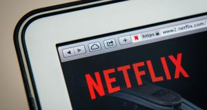 Netflix increasingly produces its own content, creating further competition with the film and television studios rather than offering a direct outlet for their content in the way Spotify does for the record labels. Photograph: Jonathan Nackstrand/AFP/Getty Images