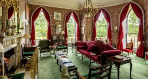 One of the rooms in the Luggala estate in Co Wicklow. Photograph: Antonio Martinelli