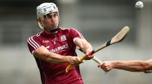 Jason Flynn scored 2-10 for Galway in Tullamore. Photograph: Inpho