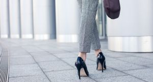 We rightly make a fuss when receptionists wear heels because their employers demand it, but not about the women who feel obliged to dress this way because their colleagues do