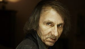Michel Houellebecq: some of the poems read like capsule treatments of the philosophical questions that are in his novels. Photograph: Nicolas Guerin/Getty Images
