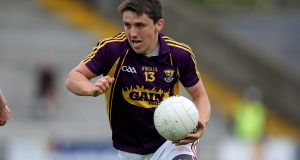 Wexford's Ciaran Lyng was to the fore in Sunday's win over Leitrim. Photograph: Donall Farmer/Inpho