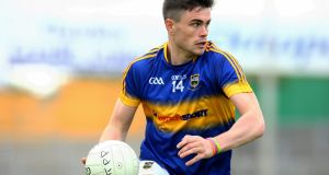 Tipperary's Michael Quinlivan scored 1-2 on Sunday. Photograph: Ken Sutton/Inpho