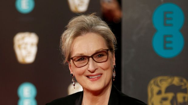 Meryl Streep arrives for the British Academy of Film and Television Awards. Photograph: Reuters
