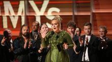Grammys 2017: Adele wins album and song of the year – and she lauds Beyoncé