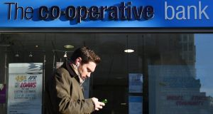 Co-op Bank nearly folded in 2013 with a £1.5 billion hole in its capital after losses from problem real-estate loans. It was rescued by bondholders