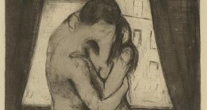 A detail from The Kiss by Edvard Munch. Photograph: Fine Art Images/Heritage Images/Getty Images