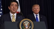 "This weekend, Mr Trump hosted Japan's Prime Minister Shinzo Abe at his Mar-A-Lago club on Palm Beach. Mr Trump's club doubled the $100,000 nomination fee for what is known as the ""winter White House"" shortly after he was inaugurated."