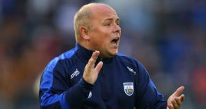 Waterford manager Derek McGrath has questioned the current hurling league structure. Photograph: Inpho/Cathal Noonan