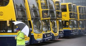 Siptu has said the Dublin Bus has breached the terms of a settlement that ended a strike  last autumn. Photograph: Colin Keegan/Collins Dublin.