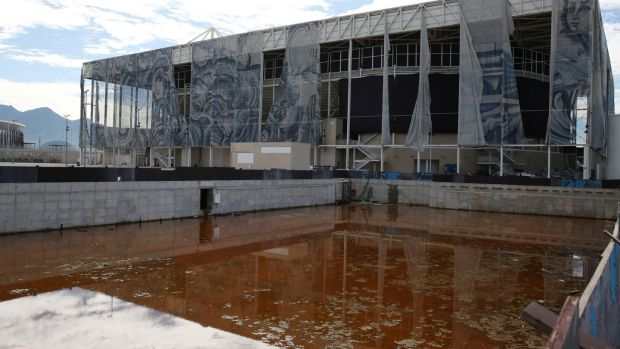 In pictures: Rio's Olympic venues lie abandoned and in disrepair