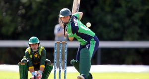 Ireland captain Laura Delany:  is relishing the opportunity for the team to take their game to the next level. Photograph: Inpho