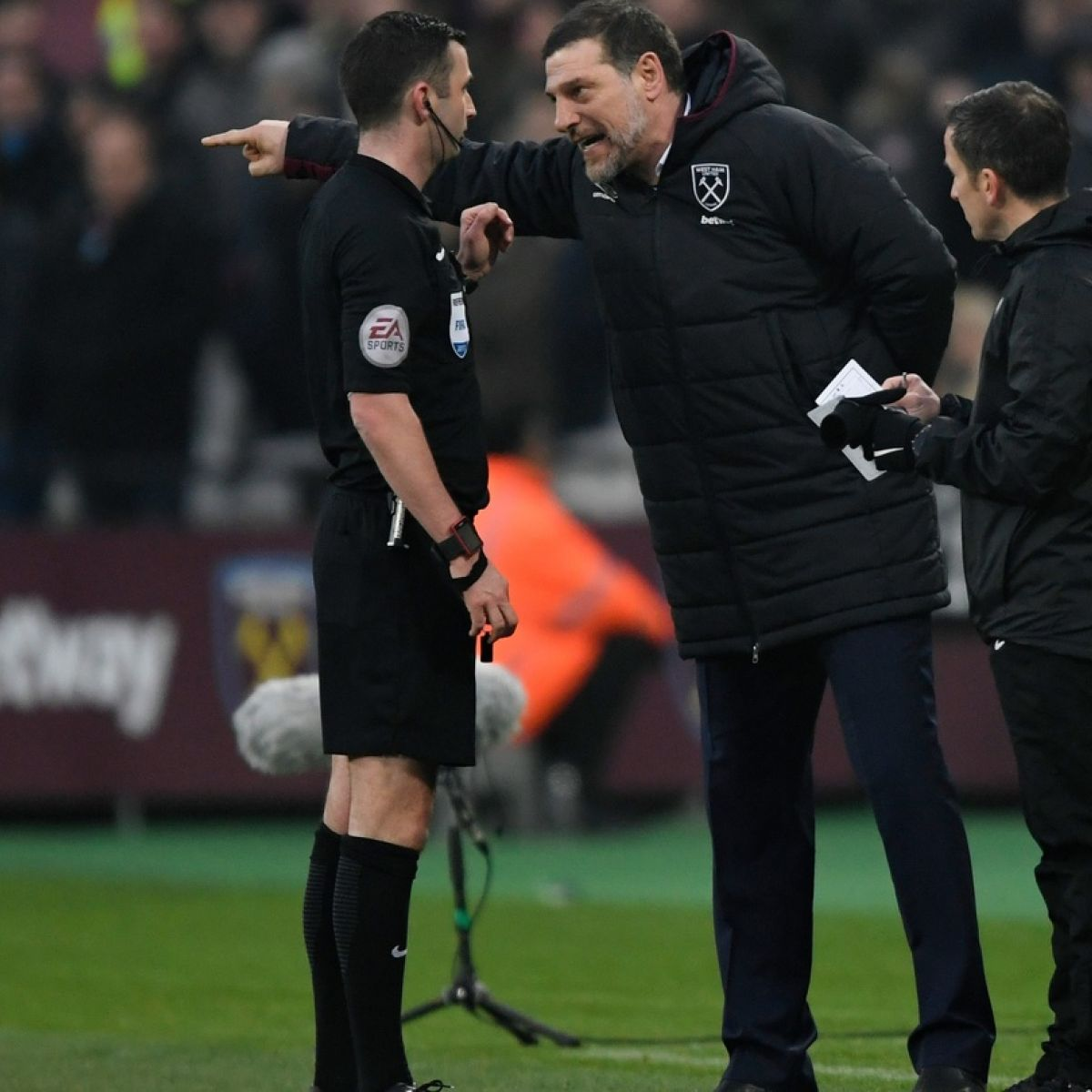 English FA charges Slaven Bilic with improper conduct