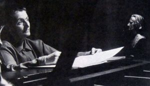 Norma Lyon: The Oregon pianist is accompanied by her friend Marie Celia Dunn on organ