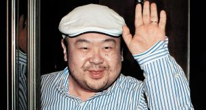 Kim Jong-Nam, the eldest son of North Korean leader Kim Jong-Il,  in Macau in 2010. The half-brother of North Korean leader Kim Jong-Un has been assassinated in Malaysia, South Korea's Yonhap news agency reported. Photograph: AFP/Getty Images