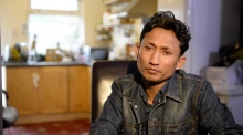 'I had to leave our country because we are Rohingya, we are Muslim'