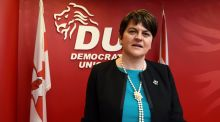 "Arlene Foster: ""political stability has been a key factor when it comes to attracting foreign direct investment and jobs."" Photograph: Reuters/Clodagh Kilcoyne"