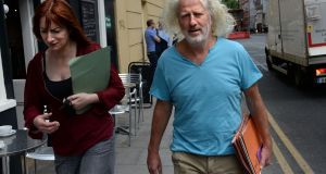 TDs Mick Wallace and Clare Daly. 'They have been knocking their heads off a brick wall for nearly a decade warning that the McCabe story is far too serious to go away.'