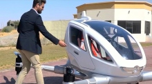 Have a nice flight: Dubai plans autonomous taxi drones