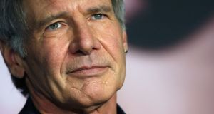 Harrison Ford: 'Was that airliner meant to be underneath me?'. Photograph: Jean-Paul Pelissier/Reuters