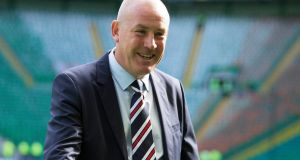 Mark Warburton has released a statement reiterating he did not resign from his role as manager of Rangers. Photograph: Jeff Holmes/PA