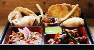 Pickle restaurant's Holi tiffin box