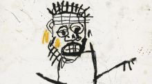 "Detail from ""Untitled 1982"" by Jean-Michel Basquiat. Adam Clayton bought the drawing from a Manhattan art gallery in 1990, and it will go on auction at Christie's in London in March."