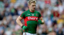 Mayo's Kevin Keane will line out for Westport in Croke Park this weekend. Photograph: James Crombie/Inpho
