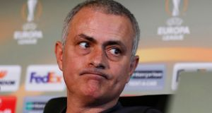 "Manchester United manager José Mourinho: ""If we progress in the competitions we will be in trouble in May."" Photograph: Jason Cairnduff/Reuters"