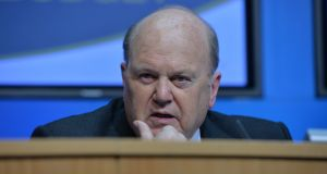 Michael Noonan: Some reports suggest that he is criticised in the Public Accounts Committee findings for meeting Cerberus representatives. Photograph: Alan Betson