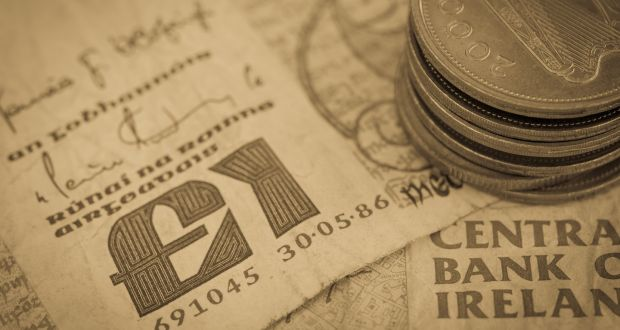 The Irish Punt Sterling Euro Exchange Rate Has Fluctuated Within Quite