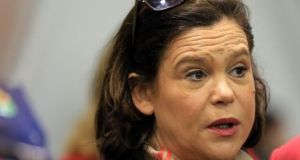 Mary Lou McDonald: The Sinn Féin TD asked 'what was the price for the votes of the Independent Alliance'.