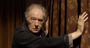 Michael Gambon in the earlier Gate production of Eh Joe. Photograph:  Anthony Woods