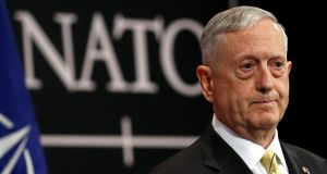 "US defence secretary Jim Mattis: ""We are not in a position right now to collaborate on a military level."" Photograph: Francois Lenoir/Reuters"