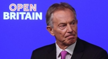 Blair urges Brexit opponents to 'rise up' and reverse vote