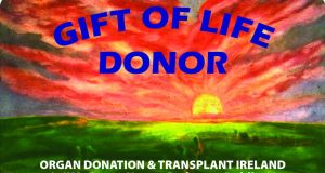 Donor card: With more than 600 patients awaiting transplantation in Ireland, one donor can potentially help nine other people