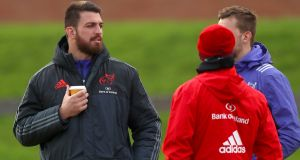 Munster'sJean Kleyn: will miss the next eight to 10 weeks with a neck injury.Photograph: Inpho