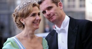 Princess Cristina and her husband Inaki Urdangarin. File photograph: Attila Kisbenedek/AFP/Getty Images