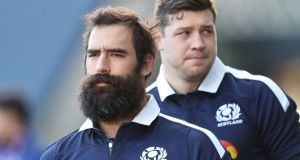 Josh Strauss' Six Nations has been ended by a kidney injury. Photograph:  Ian MacNicol/Getty Images