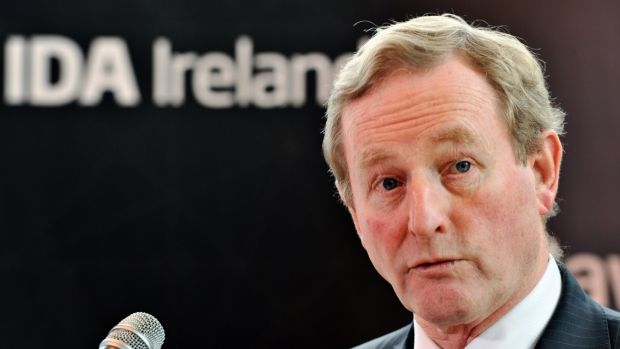 Taoiseach Enda Kenny. Photograph: Daragh Mc Sweeney/Provision