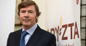 Aryzta chief executive Owen Killian, who announced this week that he will leave the company in July. Photograph: Cyril Byrne / The Irish Times