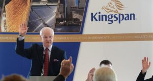 Kingspan chief executive Gene Murtagh said the insulation manufacturer had some candidates in mind for its next acquisition. Photograph: Cyril Byrne