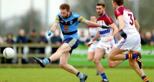 UCD's Jack McCaffrey in action against  UL. Photograph: James Crombie/Inpho