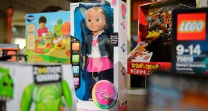 The 'My Friend Cayla' doll. German regulators have banned the internet-connected toy. Photograph: Leon Neal/AFP/Getty Images