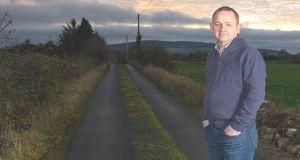 Maurice McCabe at his home in Mount Nugent on the Cavan/Meath border. Photograph: Barry Cronin