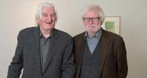 "Seán McSweeney and Gerard Smyth. ""We found that the places we remembered overlapped in various ways,"" says Smyth.  Photograph: Barry Cronin"