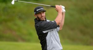 Dustin Johnson leads the Genesis Open by a stroke after two rounds. Photograph: Robert Laberge/Getty