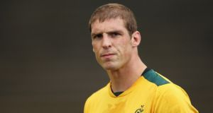Former Australia lock Dan Vickerman has died aged 37. Photograph: Cameron Spencer/Getty